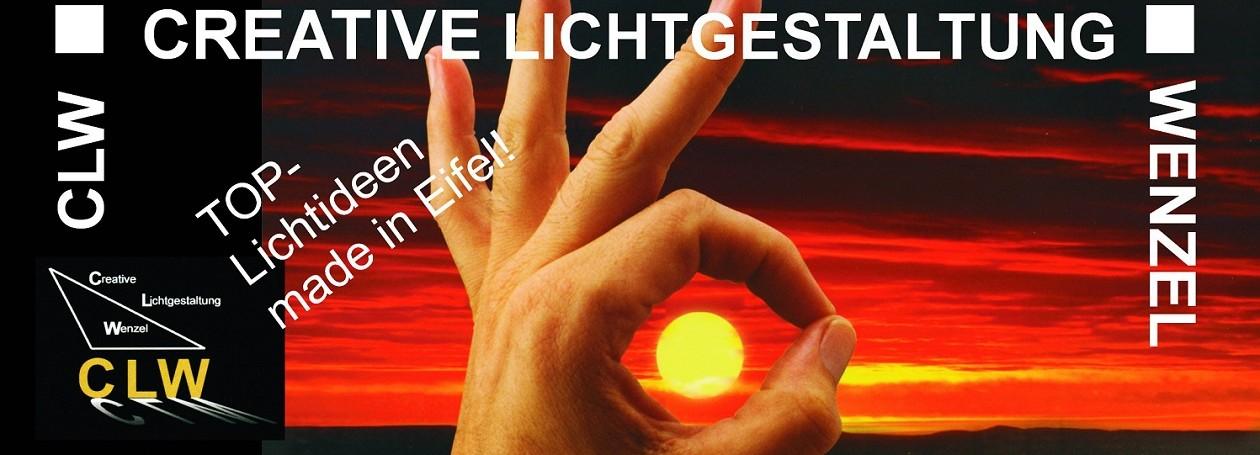 © CLW-Creative Lichtgestaltung Wenzel | Lichtgestalter & Innovaled | LED Leuchten Objektlösungen | Monschau Aachen